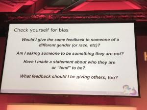 feedback bias